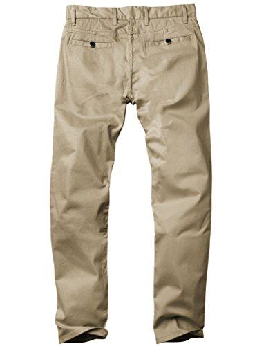 Homme apricot Chino Pantalon 8050 Match Abricot 8050 Slim Tapered Stretch qXz61O
