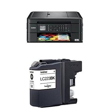 Brother MFCJ480DW - Impresora multifunción de tinta + Cartucho XL ...