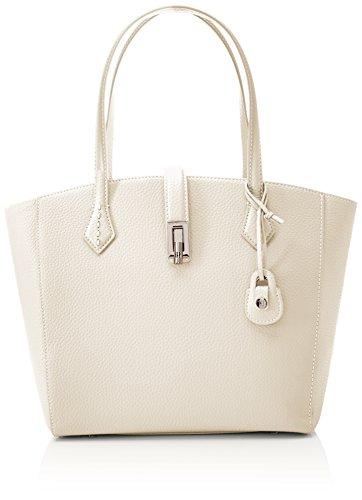 Donna Jeans a cm 17 Trussardi Suzanne Bianco Spalla White Off 5x43x36 Borsa wOxnw7XqCB