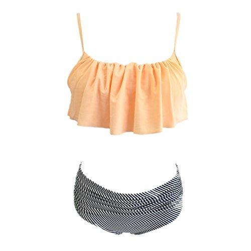 Costume Costumi Monokini Rosa Donne Push Pezzi Nero Due Rosa Bagno Spiaggia Imbottito Ragazze Morbido Bikini Elastico Swimsuit Reggiseno Rosso Set Da Altamente Up Vino ZwqwH6dr