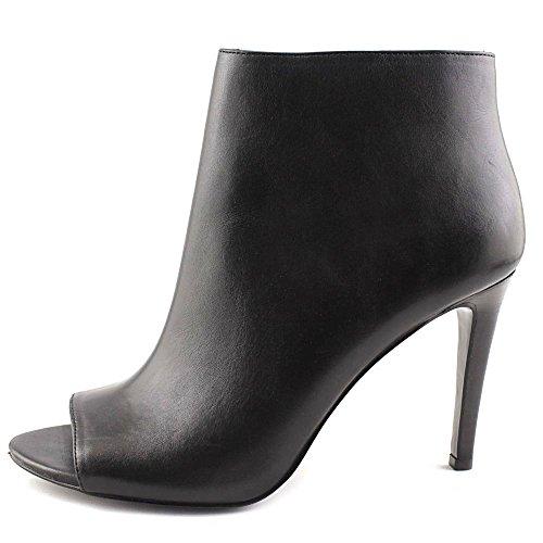 Lauren by Ralph Lauren Womens Mina Open Toe Ankle Fashion Boots Black 06bHG8