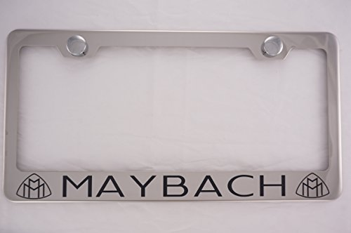 maybach-laser-engraved-chrome-license-plate-frame-with-caps