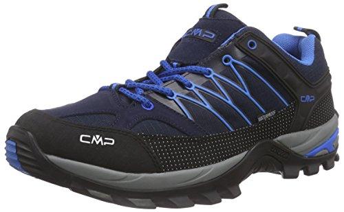 C.P.M. Rigel - Zapatillas de senderismo Hombre Azul (Black Blue)