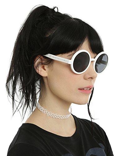 Twenty One Pilots White Round Sunglasses