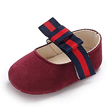 Amazon.com : Girl Baby Princess Moccasins Moccs Shoes 2018 (Red, US1(Insole Length About 11 cm)) : Baby