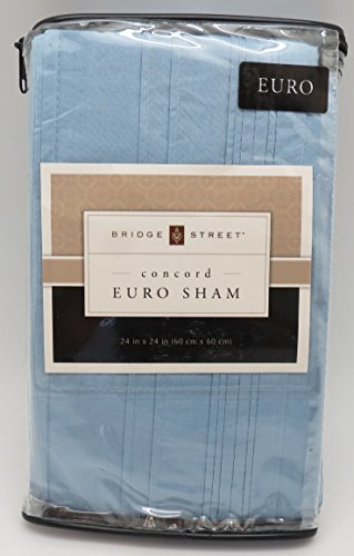Bridge Street European Pillow Sham in Blue from the Concord Collection ()