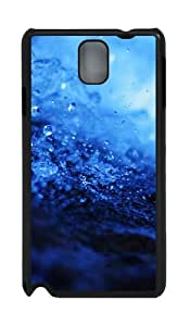 Water Splash Closeup Drops PC Case and Cover for Samsung Galaxy Note 3 Note III N9000 Black