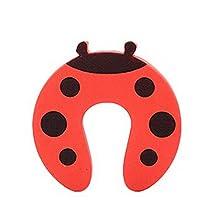 Set of 18 Cartoon Baby Infant Safety Door Doorstop Prevent Nipping Hand Ladybird