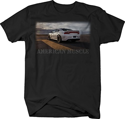 OS Gear American Muscle Dodge Charger SRT Racing Horsepower Tshirt - Large Dodge Charger T-shirt