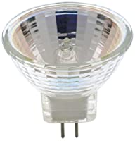 Satco S3425 2/Card 12V 35-Watt MR11 GZ4 Base Light Bulb with NFL 24 Beam Pattern with No Lens