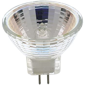 Satco S3439 1//Card 120V 100-Watt JDR Medium Base Light Bulb with FL 36 Beam Pattern with Lens