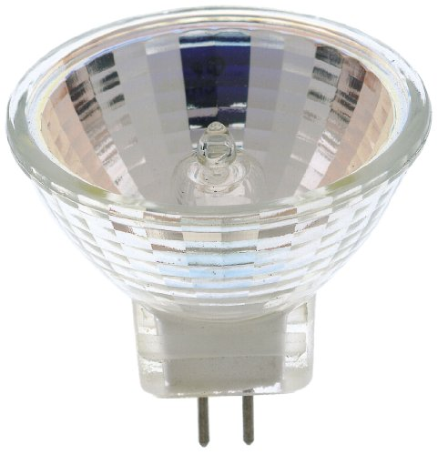 Satco S3465 1/Card 12V 20-Watt MR11 GZ4 Base Light Bulb with NFL 24 Beam Pattern with No Lens