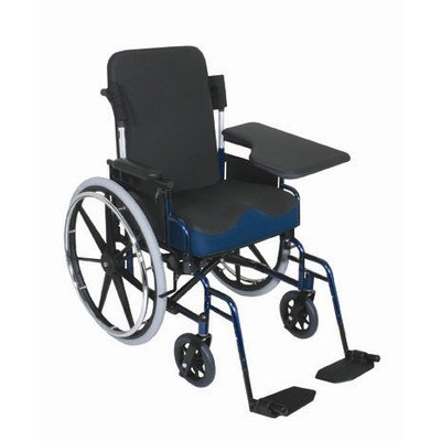 Flip-Up Half Wheelchair Lap Tray Type: Slide On, Side: Left - Wheelchair Table