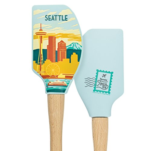 Tovolo 81-28494 Seattle Spatulas & Turners, One Size, Wood -