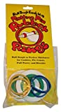 Regency Wraps Evendough Bands Rolling Pin Rings, Multicolored - Best Reviews Guide