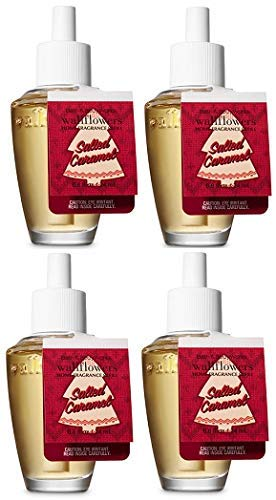 Bath and Body Works Salted Caramel Wallflowers Fragrances Refill. 0.8 Oz. 4 Set. by Bath & Body Works (Image #1)