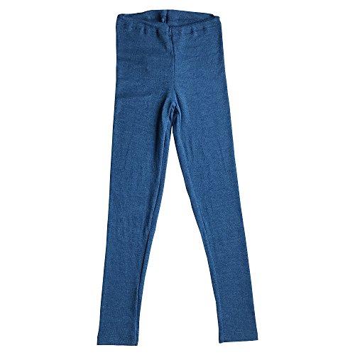 Girls-Boys-Leggings-Pants-Base-Layer-70-Organic-Merino-Wool-30-Silk-Machine-Washable