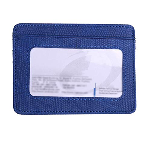 Coin Blue Holder Kanpola Bank Fashion Card Pattern Women Package Lichee Blue Card Bag WwwUOq0Pvn