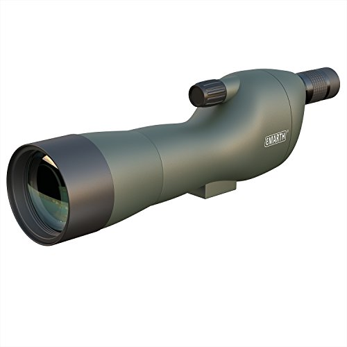 Review Emarth 20-60x60SE Straight Spotting Scope with Tripod, Optics Zoom 39-19m/1000m for Hunting Shooting Bird Watching Archery Landscape