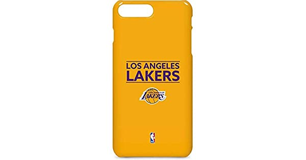 Los Angeles Lakers iPhone 8 Plus Case - Los Angeles Lakers Standard - Gold   b05764322