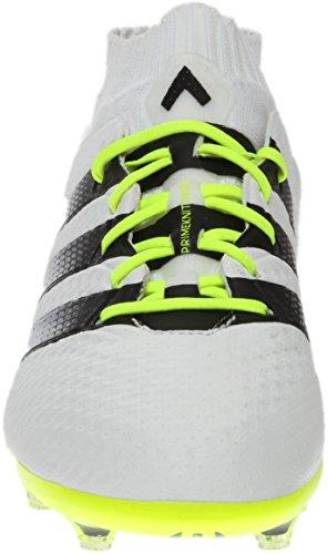 Adidas Donna Asso 16.1 Primeknit Fg / Ag Bianco / Giallo