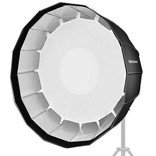 Neewer 36 inches/90 centimeters Deep Hexadecagon Softbox - Quick Collapsible with Bowens Speedring and Diffuser for Speedlite Studio Flash Monolight,Portrait and Product Photography by Neewer