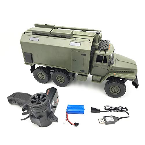 LtrottedJ WPL B36 Ural 1/16 RTR 2.4G 6WD RC Car Electric Off-Road Military Truck Crawler -