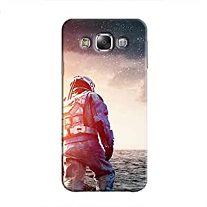Cover It Up - Space Water Walk Galaxy E7 Hard Case