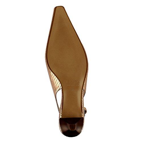 Evita Shoes Lia - Zapatos de vestir de Piel para mujer altrosa