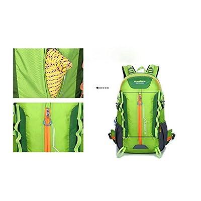 XIE@ Loisirs de plein air sport sac à dos couleur trame sacs à dos sac à dos 40L imperméable et résistant à la déchirure hommes
