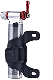 Bike Pump CO2 Inflator, Portable Mini Lightweight Aluminum Alloy Mountain Bike Road Bicycle Tyre Tube Pump