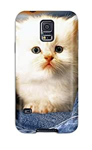 AnnDavidson DsdMGRE12599BYNRT Case For Galaxy S5 With Nice Kitten In A Pocket Appearance