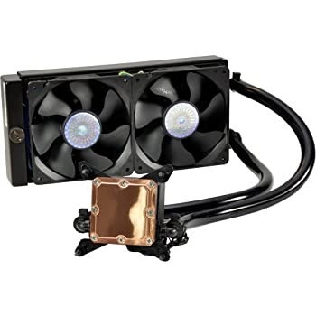 "Cooler Master Co., Ltd - Cooler Master Glacer 240L - 2 X 4.72"" - 2400 Rpm - Copper, Brass, Polyvinyl Chloride (Pvc) ""Product Category: Accessories/Processor/Case Fans"""