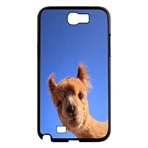 Adorable alpaca New Printed Case for Samsung Galaxy Note 2 N7100, Unique Design Adorable alpaca Case