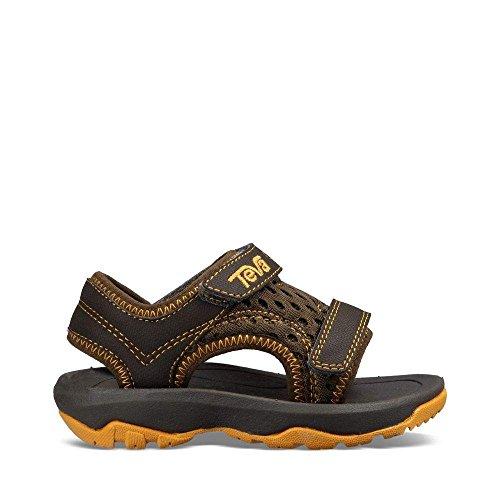 Teva Boys' T Psyclone XLT Sport Sandal, Dark Olive, 8 M US (8 Kids Footwear Sandals)