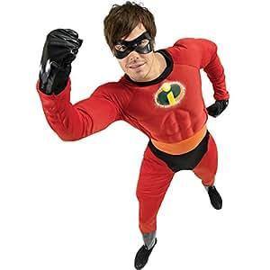 Disney Disfraz de superhéroe para hombre, talla S (888585STD-KIT)