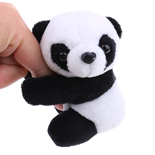 Critter Clip - Yiphates Plush Animal Clip Clip-On Critter Panda Clip Note Clip Stand Photo Holder Stand Memo Clip for Home Office Use
