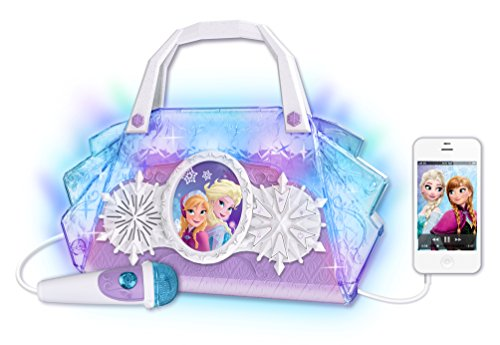 092298917443 - Disney Frozen Anna & Elsa Cool Tunes Sing Along Boombox With Microphone With Built In Tunes or Connect Your MP3 carousel main 2