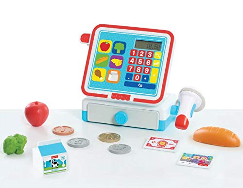 Fisher-Price Cash Register Set Toy, Multicolor