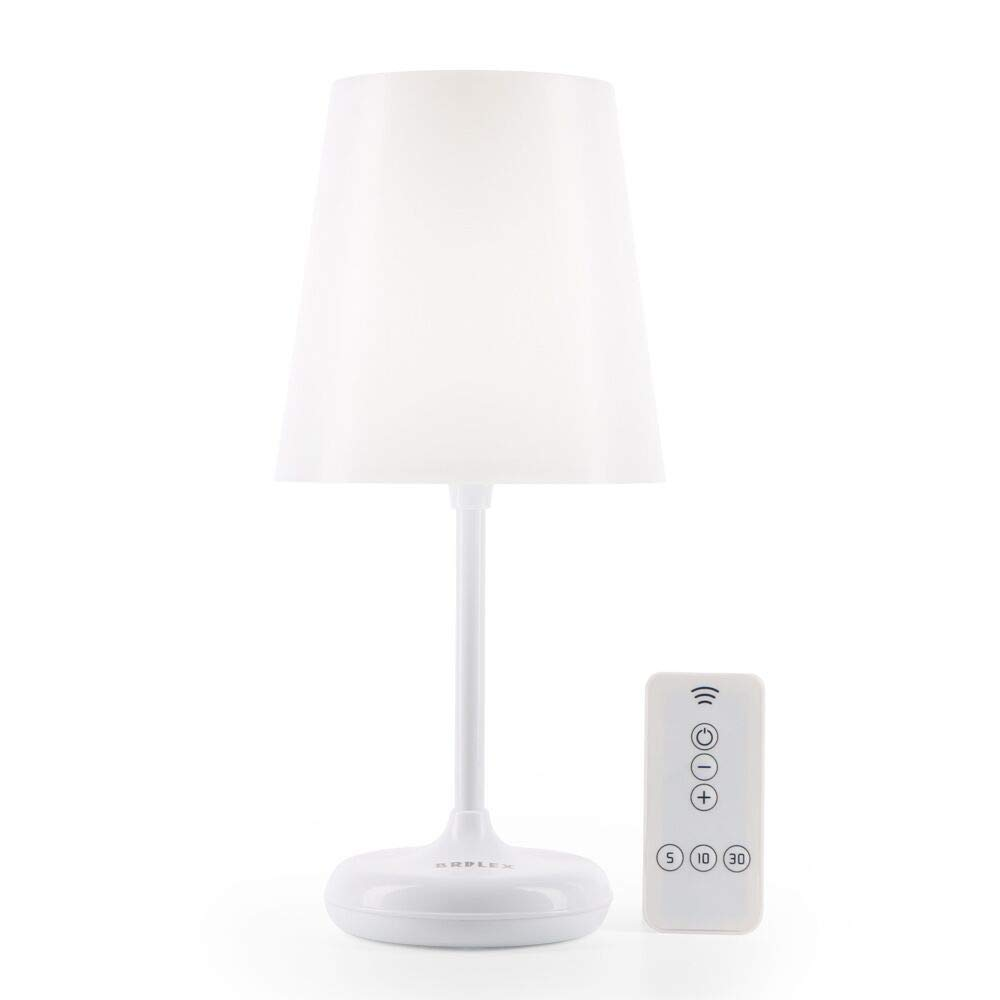 Brilex Table Lamp Bedside Desk Lamp with 3 Lighting Modes, Touch Control and Remote Control, Smart Timing Customization, Smooth Light for Children, Baby Nursing, Bedroom, Office