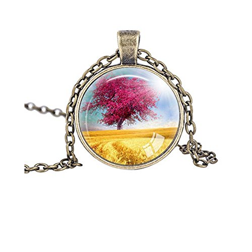 Darkey Wang Fashion Jewelry Unisex Love Tree Necklace Vintage (Russian Period Costume)