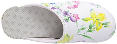 Bighorn Delle Gevavi Bianco 91 Weiss weiss 390 Flessibili Zoccoli fiore Donne AnAEZ1