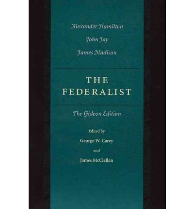 Download [(The Federalist: Gideon Edition: The Gideon Edition)] [Author: Alexander Hamilton] published on (July, 2001) pdf