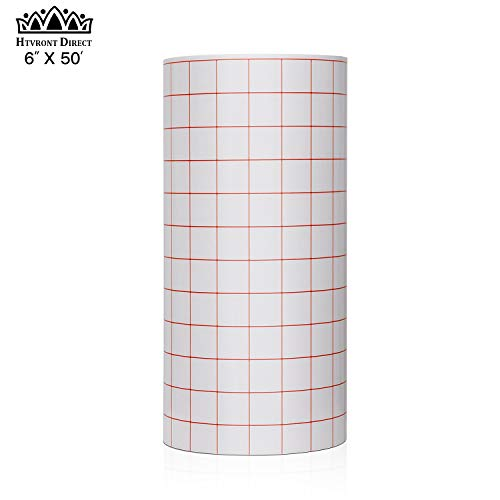 - Clear Vinyl Transfer Paper Tape Roll 6