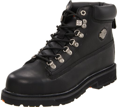 Harley-Davidson Men's Drive Motorcycle Safety Boot, Black, 12 M US