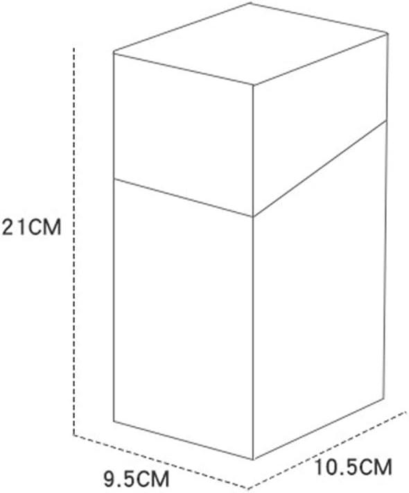 Caja de Almacenamiento Perla Blanca portal/ápices etc. Pincel de Maquillaje YANROO Caja de Almacenamiento de cosm/éticos de Vidrio de pl/ástico ABS Hexagonal y Caja de Almacenamiento para el Polvo