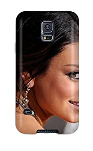 Rugged Skin Case Cover For Galaxy S5- Eco-friendly Packaging(mila Kunis )