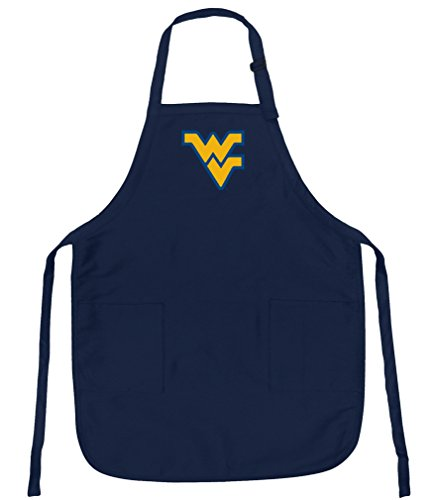 Broad Bay West Virginia University Apron Stain Release WVU Aprons ()