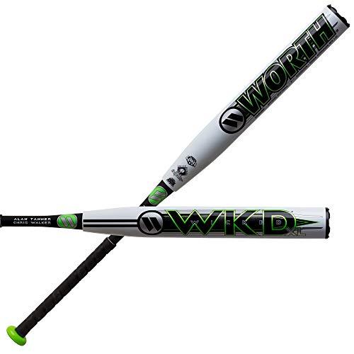 - 2019 Worth Wicked XL SSUSA Slow Pitch Softball Bat: WWKD2P 34
