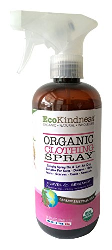 EcoKindness Organic Spring Heart Wisps of Blossom Clothing Spray, 9 Count (Pack of 9) by EcoKindness